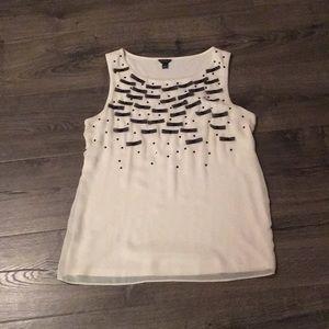 Sleeveless dress top